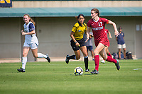 STANFORD, CA - September 3, 2017: Andi Sullivan at Cagan Stadium. Stanford defeated Navy 7-0.