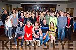 Ann and Eddie Lynch from Kielduff, Ballymac celebrate their 25th wedding anniversary in the Kerins O'Rahillys Club on Sunday night. <br /> Seated l to r: Diarmuid Lynch, Philis McLoughlin, Ann, Eddie and Michelle Lynch