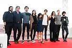 "Victor Dreyre Pro, Raul Cerezo, Miki Esparbe, Melina Matthews, Olivia Delcan, Alex Maruny, Miranda Gas, Jorge Suquet and Emiliano Rocha pose to the media during the presentation of the film ""Blood Red Carpet"" at Festival de Cine Fantastico de Sitges in Barcelona. October 13, Spain. 2016. (ALTERPHOTOS/BorjaB.Hojas)"