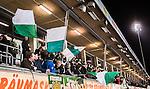Stockholm 2015-01-16 Bandy Elitserien Hammarby IF - IFK Kung&auml;lv :  <br /> Hammarbys supportrar med flaggor under matchen mellan Hammarby IF och IFK Kung&auml;lv <br /> (Foto: Kenta J&ouml;nsson) Nyckelord:  Elitserien Bandy Zinkensdamms IP Zinkensdamm Zinken Hammarby Bajen HIF IFK Kung&auml;lv supporter fans publik supporters