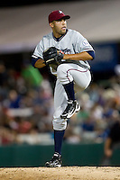 Kelvin Herrera (13) of the Northwest Arkansas Naturals delivers a pitch during a game against the South All-Stars 2011 in the Texas League All-Star game at Nelson Wolff Stadium on June 29, 2011 in San Antonio, Texas. (David Welker / Four Seam Images).