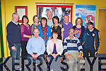 FLEADH CHEOIL: Member's of the Munster Fleadh Cheoil committee who held at fundrasing night at the Kingdom Greyhound Stadium for the 2014 Fleadh Cheoil to be held in Killarney on the 16th to the 20th of July next year seated l-r: Maurice Guilfoyle (treasurer), Geraldine Guilfoyle (secretary) and Eoin O'Cara (chairman). Back l-r: Gerard Mangan, Katie Gleeson, Noreen Cashman, Margaret Creedon, Tadhg Creedon, Ann Mangan, Tony O'Connor, Maureen Dalton and Leo Griffin.