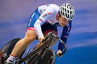 Picture by Alex Whitehead/SWpix.com - 11/10/2017 - British Cycling - Great Britain Cycling Team Sprint Practice Session - HSBC UK National Cycling Centre, Manchester, England - Sophie Capewell.