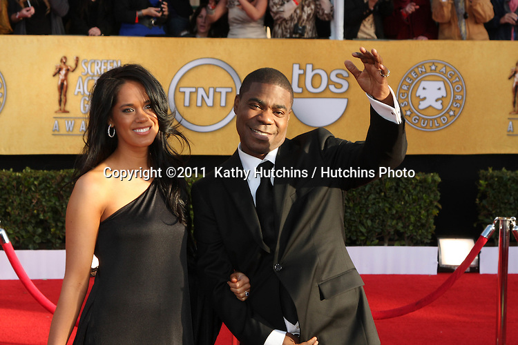 LOS ANGELES - JAN 30:  Tracy Morgan arrives at the 2011 Screen Actors Guild Awards  at Shrine Auditorium on January 30, 2011 in Los Angeles, CA