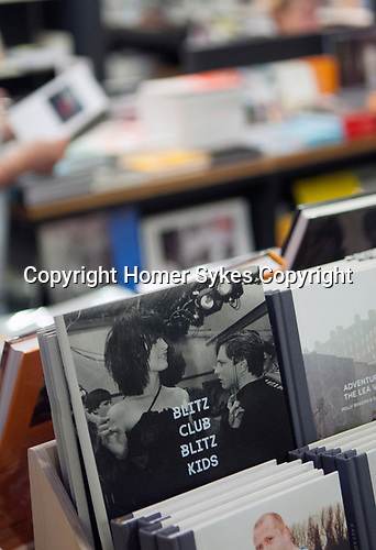 Blitz Club Blitz Kids, published by Poursuite Editions France. London book shops at the Photographers Gallery