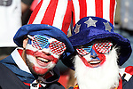 18 JUN 2010: USA fans, pregame. The Slovenia National Team tied the United States National Team 2-2 at Ellis Park Stadium in Johannesburg, South Africa in a 2010 FIFA World Cup Group C match.
