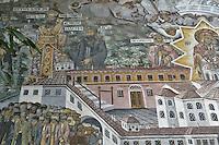 BG51490.JPG BULGARIA, BATCHKOVO MONASTERY, Refectory, 1601, frescoes