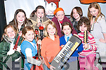 Rehearsal: Getting some final rehearsals in at the Asdee Community Centre for this weekend's performance of Countdown to Christmas were Girls 'R Loud members front l-r Debbie O'Sullivan, Meabh Scanlon, Ciana Lynch, Audrey Lacey and Sandra Dalton. With back l-r Ellen and Christina Tydings, Sarah Jane Carmody, Laura Russell and Alex McDonnagh.   Copyright Kerry's Eye 2008