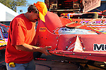 Feb 10, 2009; 3:58:29 PM; Barberville, FL, USA; UMP DIRTcar Racing Series for the 38th Annual ALLTEL DIRTcar Nationals by UNOH at Volusia Speedway Park.  Mandatory Credit: (thesportswire.net)
