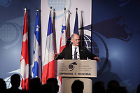 Montreal, CANADA, June, 2015  File Photo<br /> Gil Remillard<br /> <br /> ,attend the The International Economic Forum of the Americas <br /> <br /> Photo :   Pierre Roussel - AQP