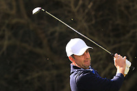 Richard Bland (ENG) on the 8th tee during Round 2 of the Challenge Tour Grand Final 2019 at Club de Golf Alcanada, Port d'Alcúdia, Mallorca, Spain on Friday 8th November 2019.<br /> Picture:  Thos Caffrey / Golffile<br /> <br /> All photo usage must carry mandatory copyright credit (© Golffile | Thos Caffrey)