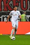 06.10.2019, Commerzbankarena, Frankfurt, GER, 1. FBL, Eintracht Frankfurt vs. SV Werder Bremen, <br /> <br /> DFL REGULATIONS PROHIBIT ANY USE OF PHOTOGRAPHS AS IMAGE SEQUENCES AND/OR QUASI-VIDEO.<br /> <br /> im Bild: Milos Veljkovic (SV Werder Bremen #13)<br /> <br /> Foto © nordphoto / Fabisch