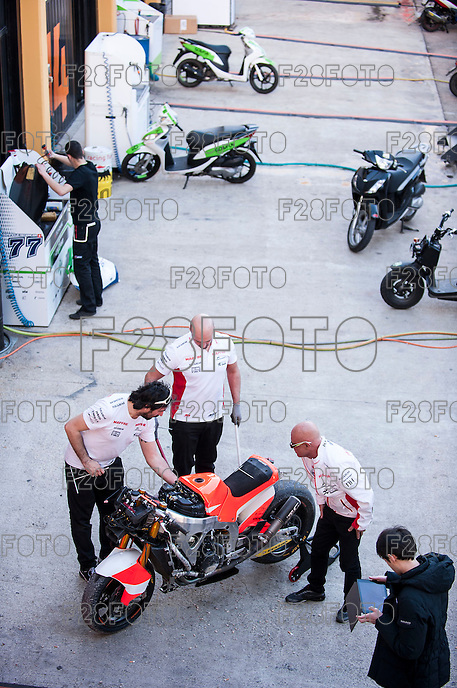 After the pre season winter test IRTA Moto3 & Moto2 at Ricardo Tormo circuit in Valencia (Spain), 11-12-13 February 2014