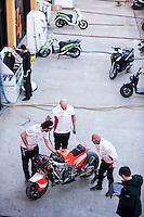 After the pre season winter test IRTA Moto3 & Moto2 at Ricardo Tormo circuit in Valencia (Spain), 11-12-13 February 2014
