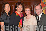 BALL: Joan Kelly, Triona Clifford, Angela and Brendan Lynch having a ball at the Fossa GAA social in the Killarney Avenue Hotel on Saturday night.   Copyright Kerry's Eye 2008