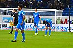 01.12.2018, wirsol Rhein-Neckar-Arena, Sinsheim, GER, 1 FBL, TSG 1899 Hoffenheim vs FC Schalke 04, <br /> <br /> DFL REGULATIONS PROHIBIT ANY USE OF PHOTOGRAPHS AS IMAGE SEQUENCES AND/OR QUASI-VIDEO.<br /> <br /> im Bild: Frust bei Kevin Vogt (TSG Hoffenheim #22) und Kerem Demirbay (TSG Hoffenheim #10)<br /> <br /> Foto © nordphoto / Fabisch