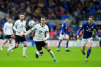 Bersant Celina of Swansea City in action during the Sky Bet Championship match between Cardiff City and Swansea City at the Cardiff City Stadium in Cardiff, Wales, UK. Sunday 12 January 2020