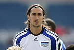 11 July 2009: Kansas City's Santiago Hirsig. The New England Revolution played the Kansas City Wizards to a 0-0 tie at Gillette Stadium in Foxboro, Massachusetts in a regular season Major League Soccer game.