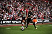 during the Premier League match between Southampton and Swansea City at the St Mary's Stadium, Southampton, England, UK. Saturday 12 August 2017