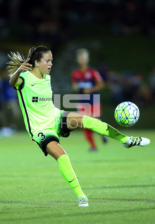 Boyds, MD - Wednesday Sept. 07, 2016: Lauren Barnes during a regular season National Women's Soccer League (NWSL) match between the Washington Spirit and the Seattle Reign FC at Maureen Hendricks Field, Maryland SoccerPlex.