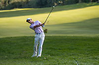 Jack Singh Brar (ENG) in action on the 17th hole during the second round of the 76 Open D'Italia, Olgiata Golf Club, Rome, Rome, Italy. 11/10/19.<br /> Picture Stefano Di Maria / Golffile.ie<br /> <br /> All photo usage must carry mandatory copyright credit (© Golffile | Stefano Di Maria)