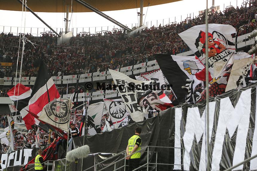 Fans von Eintracht Frankfurt - Eintracht Frankfurt vs. VfL Bochum, Commerzbank Arena, 2. Runde DFB-Pokal