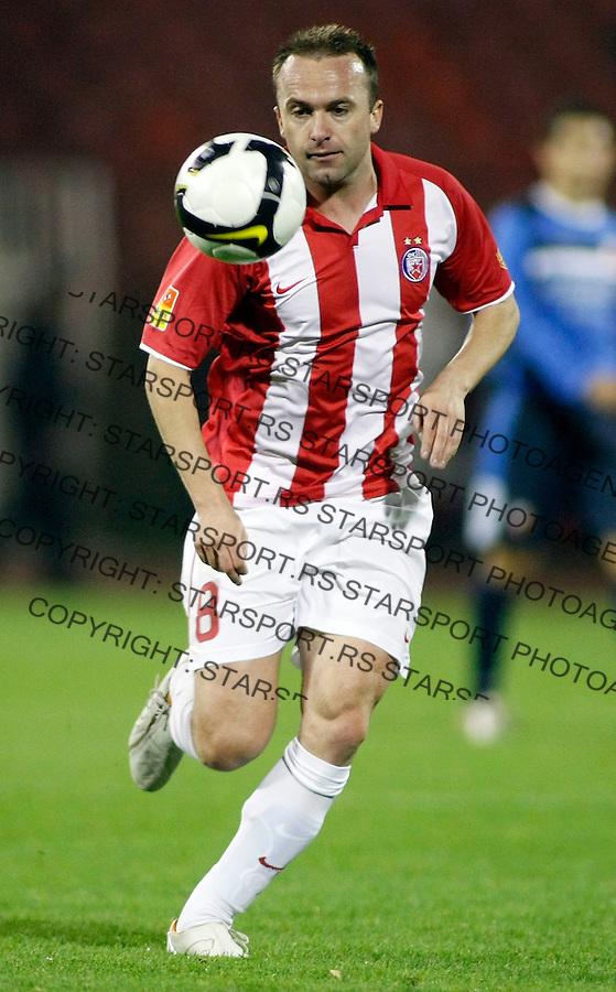 Fudbal, super liga, season 2007/08.Crvena Zvezda Vs. Vojvodina (Novi Sad).Ognjen Koroman.Beograd, 08.11.2008..foto: Srdjan Stevanovic/Starsportphoto.com ©