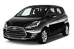 2016 Hyundai ix20 Joy 5 Door Mini MPV Angular Front stock photos of front three quarter view