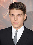 Nolan Gerard Funk<br />  at The Universal Pictures' World Premiere of Riddick held at The Westwood Village in Westwood, California on August 28,2013                                                                   Copyright 2013 Hollywood Press Agency