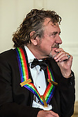 Robert Plant of the band Led Zeppelin attend the Kennedy Center Honors reception at the White House on December 2, 2012 in Washington, DC. The Kennedy Center Honors recognized seven individuals - Buddy Guy, Dustin Hoffman, David Letterman, Natalia Makarova, John Paul Jones, Jimmy Page, and Robert Plant - for their lifetime contributions to American culture through the performing arts. .Credit: Brendan Hoffman / Pool via CNP