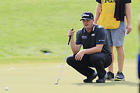 Jason Kokrak (USA) on the 18th green during Friday's Round 2 of the 2017 PGA Championship held at Quail Hollow Golf Club, Charlotte, North Carolina, USA. 11th August 2017.<br /> Picture: Eoin Clarke | Golffile<br /> <br /> <br /> All photos usage must carry mandatory copyright credit (&copy; Golffile | Eoin Clarke)