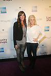 Marcy Bloom Vice President and  Megan Hilty Attend Lucky magazine's Ninth Annual LUCKY SHOPS Event Hosted by Grammy® Award-Winning Recording Artist, Jennifer Hudson At 82 Mercer, NY   12/6/12