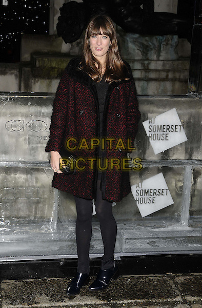 LONDON, ENGLAND - NOVEMBER 13: Laura Jackson at the Skate at Somerset House VIP launch party, Somerset House on November 13, 2013 in London, England, UK.<br /> CAP/CAN<br /> &copy;Can Nguyen/Capital Pictures