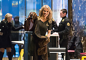 Trump campaign manager and political strategist Kellyanne Conway is seen in the lobby of Trump Tower in New York, NY, USA upon her arrival on December 12, 2016.<br /> Credit: Albin Lohr-Jones / Pool via CNP