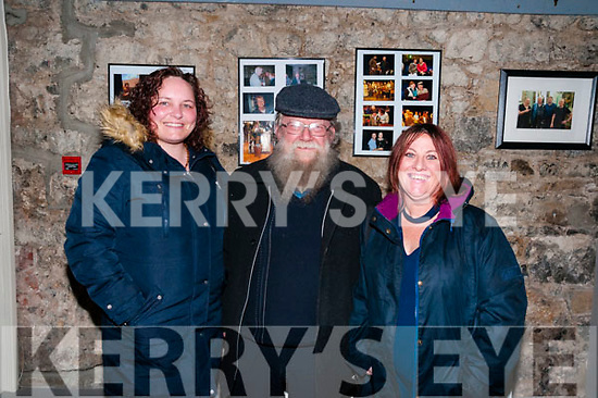 All for me Grog:Attending  the Liberties folk group performance  at St. John's Arts Centre, Listowel on Friday night last were Denise Fitzgerald, Listowel, Mike O'Neill, Camp & Judith Fitzgerald, Listowel.