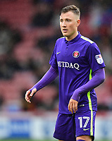 Charlton Athletic's Fredrik Ulvestad<br /> <br /> Photographer Chris Vaughan/CameraSport<br /> <br /> The EFL Sky Bet League One - Sheffield United v Charlton Athletic - Saturday 18th March 2017 - Bramall Lane - Sheffield<br /> <br /> World Copyright &copy; 2017 CameraSport. All rights reserved. 43 Linden Ave. Countesthorpe. Leicester. England. LE8 5PG - Tel: +44 (0) 116 277 4147 - admin@camerasport.com - www.camerasport.com