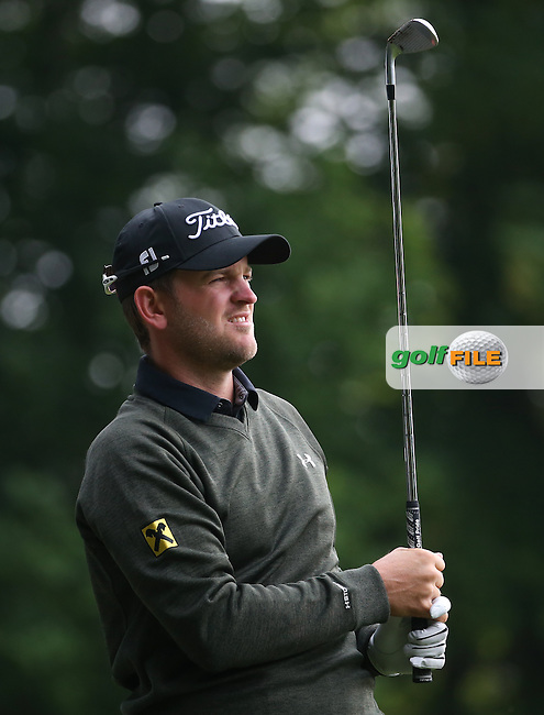 Bernd Wiesberger (AUT) during Round Three of the 2016 BMW PGA Championship over the West Course at Wentworth, Virginia Water, London. 28/05/2016. Picture: Golffile | David Lloyd. <br /> <br /> All photo usage must display a mandatory copyright credit to &copy; Golffile | David Lloyd.