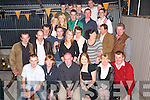 Party: Celebrating his  21st   birthday in The Complex Bar in Abbeydorney on Friday evening  was Eugene Donovan(Seated third from left) of Abbeydorney along with family and friends..