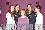 FLIM NIGHT: Enjoying the film premier of Operation Tralee Youth at the Carlton Tralee on Saturday l-r: Aisling McDaid, Niamh Sheehy, Sadhbh Keating, Aine O'Connor and Marie Woulfe.