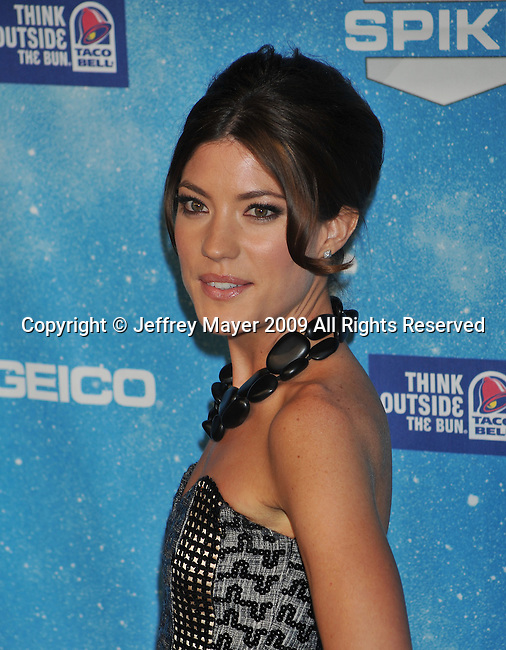 LOS ANGELES, CA. - October 17: Jennifer Carpenter arrives at Spike TV's Scream 2009 held at the Greek Theatre on October 17, 2009 in Los Angeles, California.