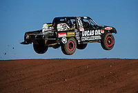 Apr 17, 2011; Surprise, AZ USA; LOORRS driver Brian Deegan (38) during round 4 at Speedworld Off Road Park. Mandatory Credit: Mark J. Rebilas-