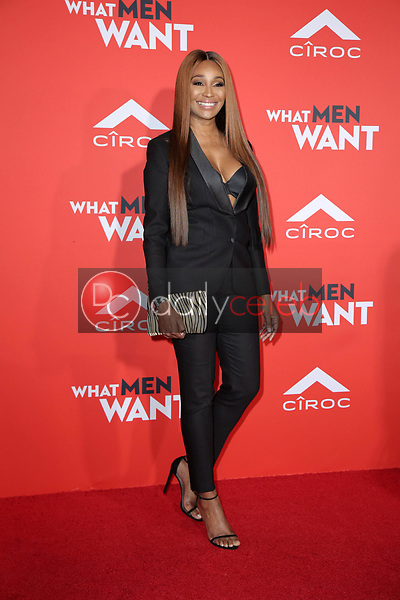 "Cynthia Bailey<br /> at the ""What Men Want"" Premiere, Village Theater, Westwood, CA 01-28-19<br /> David Edwards/DailyCeleb.com 818-249-4998"