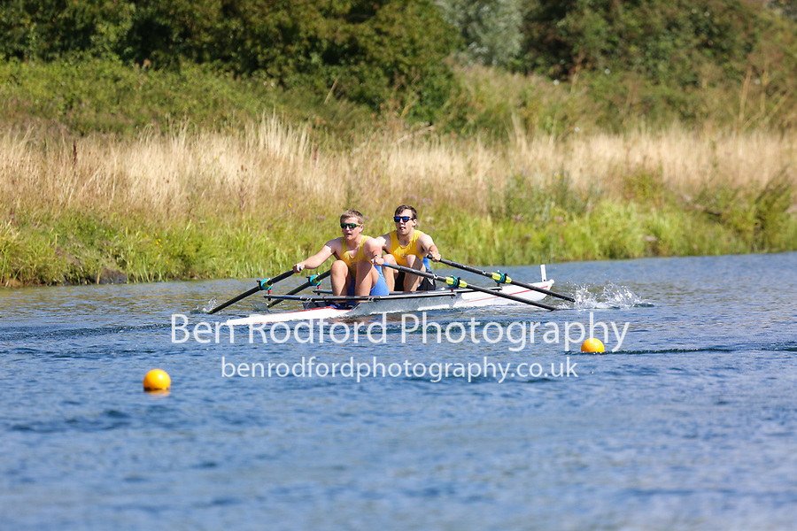Race: 48  2x (Band 2)  Heat 3<br /> <br /> Peterborough Summer Regatta 2018 - Saturday<br /> <br /> To purchase this photo, or to see pricing information for Prints and Downloads, click the blue 'Add to Cart' button at the top-right of the page.