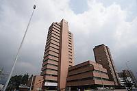 BOGOTÁ-COLOMBIA-15-01-2013. Edificio de la Contraloría de Bogotá./ Comptroller of Bogotá building. Photo: VizzorImage/STR