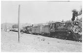 RGS #20 and leased D&amp;RGW #462 on lumber train at Glencoe.<br /> RGS  Glencoe, CO  Taken by Schick, Joe - 7/14/1946
