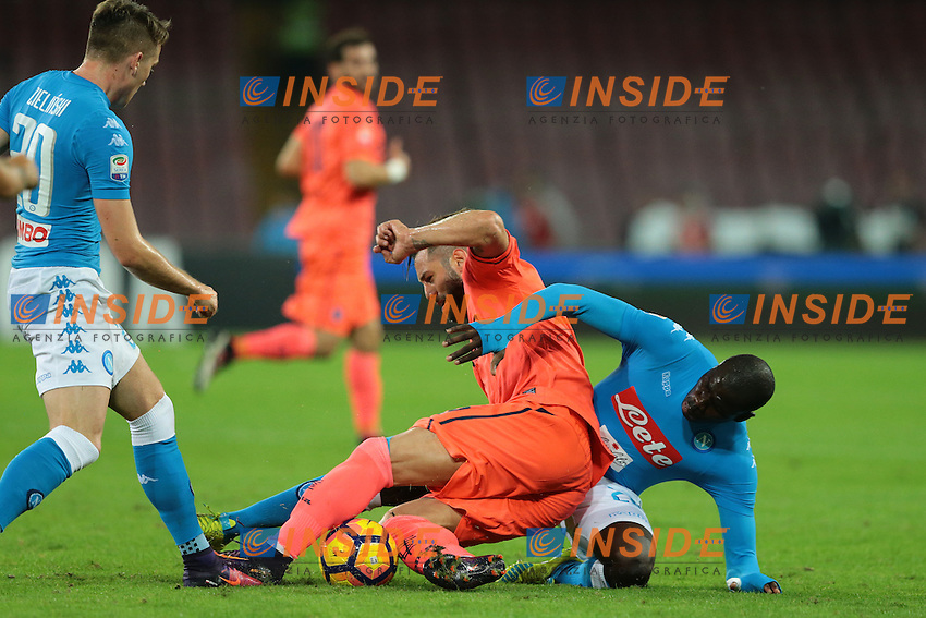 Kalidou Koulibaly Napoli,<br /> Napoli 26-10-2016  Stadio San Paolo <br /> Campionato Serie A Napoli - Empoli<br /> Foto Cesare Purini / Insidefoto