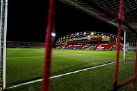 A general view of Highbury Stadium, home of Fleetwood Town FC<br /> <br /> Photographer Alex Dodd/CameraSport<br /> <br /> The EFL Sky Bet League One - Fleetwood Town v Shrewsbury Town - Tuesday 13th February 2018 - Highbury Stadium - Fleetwood<br /> <br /> World Copyright &copy; 2018 CameraSport. All rights reserved. 43 Linden Ave. Countesthorpe. Leicester. England. LE8 5PG - Tel: +44 (0) 116 277 4147 - admin@camerasport.com - www.camerasport.com