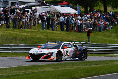 Pirelli World Challenge<br /> Grand Prix of Lime Rock Park<br /> Lime Rock Park, Lakeville, CT USA<br /> Saturday 27 May 2017<br /> Ryan Eversley / Tom Dyer<br /> World Copyright: Richard Dole/LAT Images<br /> ref: Digital Image RD_LMP_PWC_17161
