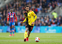 7th March 2020; Selhurst Park, London, England; English Premier League Football, Crystal Palace versus Watford; Etienne Capoue of Watford
