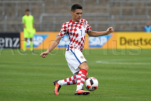 12.07.2016. Donaustadion, Ulm, Germany.  Croatia's Josip Brekalo in action during the UEFA Under-19 European Championship group B match between Croatia and The Netherlands, at the Donaustadion, in Ulm, Germany, 12 July 2016.